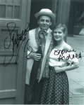 Sylvester McCoy and Sophie Aldred - Signed 10 x 8. This is an original autograph not a copy 10255